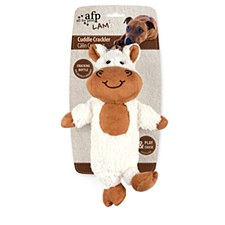 All For Paws Cuddle Crackler Horse Dog Toy