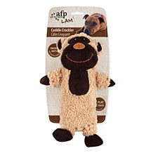 All For Paws Cuddle Crackler Monkey Dog Toy