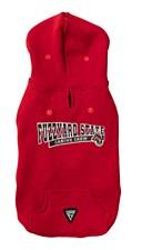 FuzzYard Dog Coat State Hoodie Red Size 4