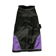 Kong Dog Coat Night Walker Waterproof Black & Purple 55cm