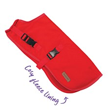 Kazoo Dog Coat Adventure Red 59.5cm