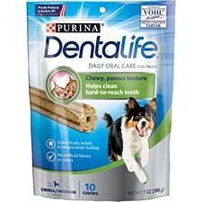 Purina Dentalife Small/Medium Dog Treats 198g