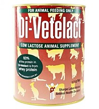 Di-Vetelact Animal Supplement 375g