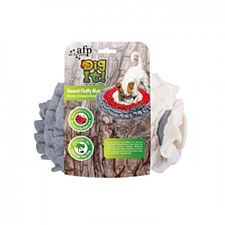 All For Paws Dig It! Round Fluffy Mat Dog Toy