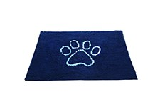Dirty Dog Door Mat Blue Medium