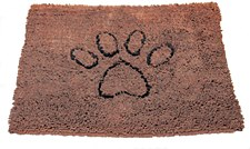 Dirty Dog Door Mat Brown Medium