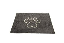 Dirty Dog Door Mat Grey Medium
