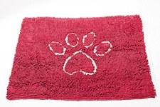 Dirty Dog Door Mat Red Medium