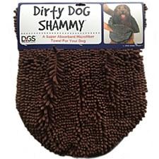 Dirty Dog Shammy Brown 35cm x 80cm