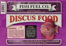 Fish Fuel Co. Discus Food 110g Frozen Fish Food