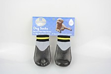 Dog Socks Waterproof Non Slip Black XXL