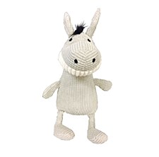 K9 Homes Grinners Grey Plush Dog Toy