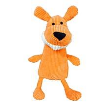 K9 Homes Grinners Orange Plush Dog Toy