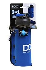 Doog 3 in 1 Bottle Blue Dog Bowl