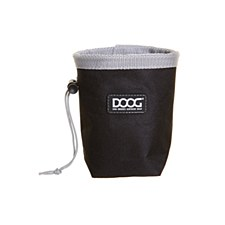 Doog Treat Pouch Small Black & Grey