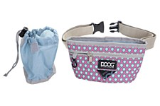 Doog Treat Pouch Large Luna Pink