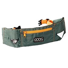 Doog Walking Belt Green & Orange