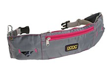 Doog Walking Belt Grey & Pink