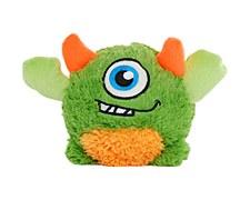 Allpet Monstaaargh Flick Medium Green Plush Dog Toy