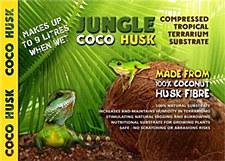 Eco Tech Jungle Coco Husk 650g Compressed Tropical Terrarium Substrate