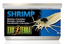 Exo Terra Shrimp Can 34g Reptile Food