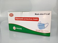 Disposable protective face masks (50 Pack)