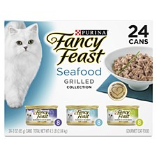 Fancy Feast Seafood Grilled Collection 85g X 24 Wet Cat Food