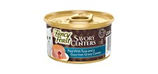 Fancy Feast Savory Centers Pate With Tuna 85g X 24 Wet Cat Food