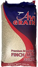 Avigrain Premium Breeders Finch Mix 20kg Bird Food