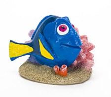 Penn Plax Fish Tank Ornament Dory on Coral