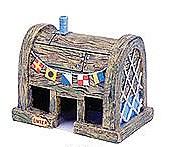 Penn Plax Fish Tank Ornament Sponge Bob Krusty Krab House