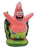 Penn Plax Fish Tank Ornament Sponge Bob Patrick
