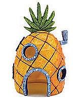 Penn Plax Fish Tank Ornament Sponge Bob Pineapple Home