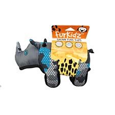 Furkidz African Rhino 35cm Dog Toy