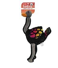Furkidz Carnival Rainbow Turkey Dog Toy 40cm