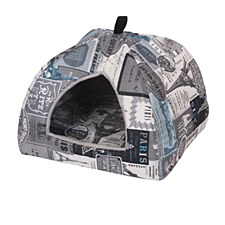 Furkidz Paris Central Pyramid Cat Bed