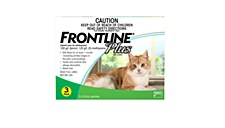 Frontline Plus for Cats and Kittens from 8 weeks (3 Pack)