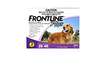 Frontline Plus for Large Dogs 20kg to 40kg (3 Pack)