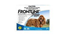 Frontline Plus for Medium Dogs 10kg to 20kg (3 Pack)