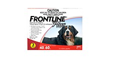 Frontline Plus for Extra Large Dogs 40kg to 60kg (3 Pack)