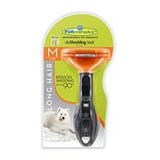 FURminator deShedding tool for Long Hair Medium Dogs