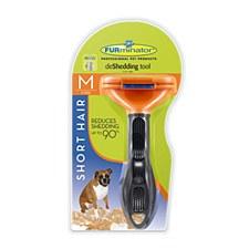 FURminator deShedding tool for Short Hair Medium Dogs