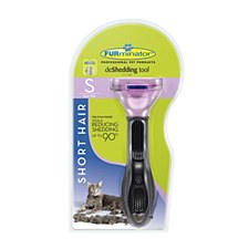 FURminator deShedding tool for Short Hair Small Cats
