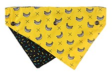 FuzzYard Dog Bandana Monkey Mania Medium