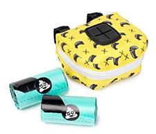 FuzzYard Dog Waste Bag Dispenser & Roll Monkey Mania