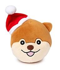 FuzzYard Dog Ball Plush Christmas Dog Toy