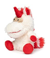 FuzzYard Electra Unicorn Small Plush Christmas Dog Toy