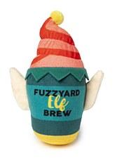 FuzzYard Elf Brew Plush Christmas Dog Toy
