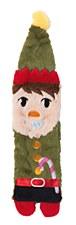 FuzzYard Flat Out Cool Elf Plush Christmas Dog Toy