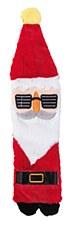 FuzzYard Flat Out Cool Santa Plush Christmas Dog Toy